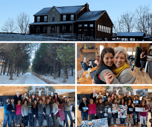 Traditions, Girls Night and a Vision Retreat