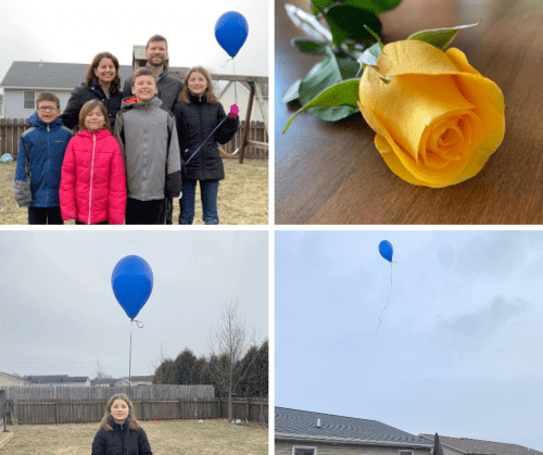 Family, Yummy Food, and Valentine's Day